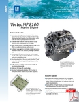 Vortec HP 8100 Marine Engine